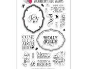 Tag It: Christmas - Stamp Set