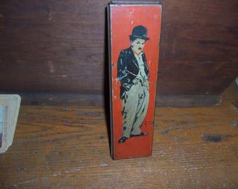 CHARLEY CHAPLAN pencil BOX