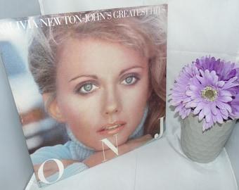 Vintage Vinyl Record LP 33 1/3 1977 Olivia Newton-John Greatest Hits MCA