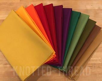 Fall Solids bundle - Moda Bella solids
