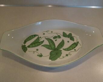 Taste Setter Collection Villa Vanilla Vegetable Polka Dot Vegetable Bowl