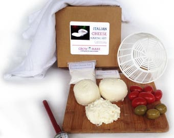DIY Italian Cheese Kit