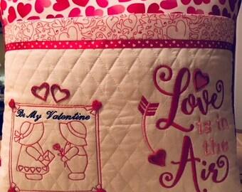 Valentine Reading Pillow