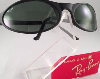 Vintage Ray Ban Bausch and Lomb Matte Black Predator Sports PS7 G15 New NOS