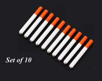 Set of Ten One hitter tobacco pipes
