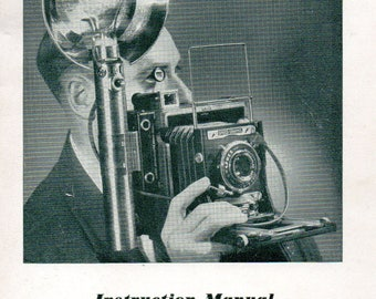 Instruction Manual Graflex Camera Flash