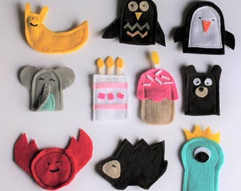Individual Miscellaneous Finger Puppet
