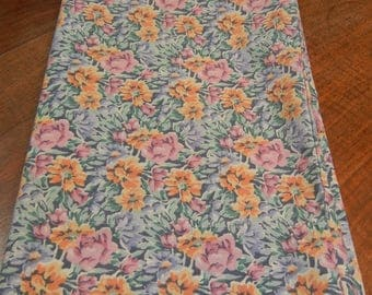 Martex pillowcase - floral pillowcase - vintage 1970s
