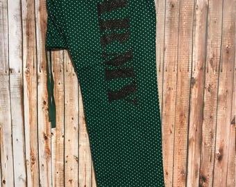 XL Army PJ Pants