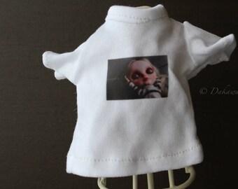 Blythe Doll Outfit /  1/6 doll size /  Customblythe print T-shirts  #4