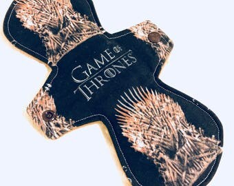 10″ Moderate absorbency – cotton top game of thrones - iron throne