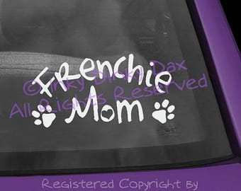 Frenchie Mom Decal