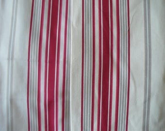 french fabric stripes for your home decoration 280 cm sell by meter