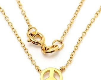 ON SALE PEACE Petite Pendant