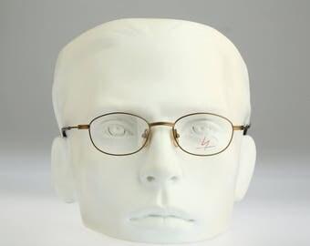 Yohji Yamamoto 51-7106 / Vintage  eyeglasses / NOS / 90S designer optical frame