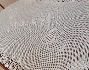 Butterfly Filet  Tablecloth/ Made  to Order