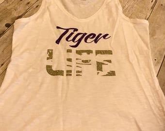 Tiger LIFE tank/tee