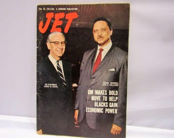 Vintage Jet Magazine