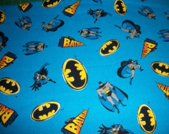 Batman   flannel   Toddler pillowcase
