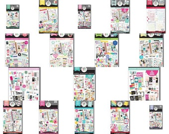 This Colorful Life, 1050/Pkg Create 365 Happy Planner Sticker Value Pack