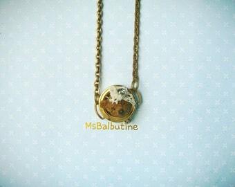Teddy Bear Head Necklace