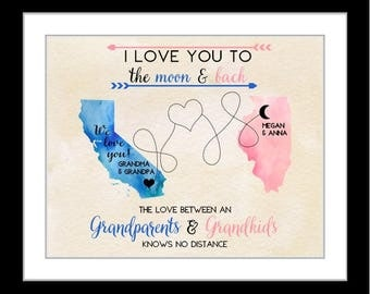 Gift For Grandparents, Personalized Grandma Gifts First Time Grandparent Gifts Custom Gifts For Grandma Grandparent Gifts Grandma Present