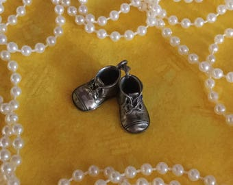 Baby Bootie Charm Etsy