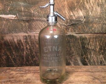 Antique Seltzer Bottle Home Decor Decorative Accent Vignette Collectible