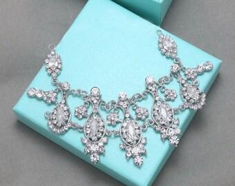 Wedding applique, Shoe clips applique, Hair chain,Crystal chain,Rhinestone chain, Wedding crystal chain, Drop chain