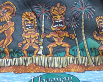 Tiki T Shirt - Size 2 XL - Hawaiian Islands Brand from Hilo Hatties - Mint condition with tag still attached - 100% cotton by Murina