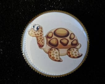 """Turtle"" fashion ring"