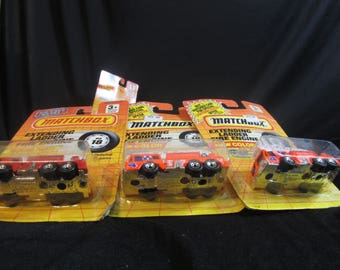Extending Ladder Fire Engine, MB 18, new color! Matchbox Cars, Trucks, Vehicles, Diecast Cars, Car Models, FREE Shipping