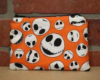 One Snack Sack, Reusable Lunch Bag, Waste-Free Lunch, Machine Washable, Nightmare Before Christmas, Back to School, School Lunch, item #SS86