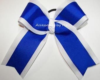 Bulk Price, Cheer Bow, Ponytail Holder, Color Choice Bows, Football Cheerleader Spirit Bows, Cheap Ribbons, Softball Volleyball Team Spirit