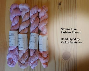 Natural Dye Sashiko Thread / 145 meter hand-dye