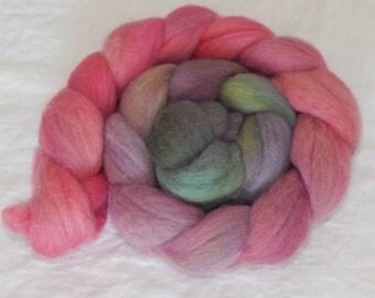 100% Falkland fiber, Rosebush, 4 ounces, 116 grams