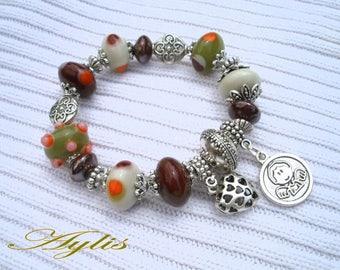 Unique glass AYLIS Beads Bracelet