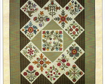 Quilt Pattern Honoring Emma An Album Quilt by Lori Smith Instructions and Patterns