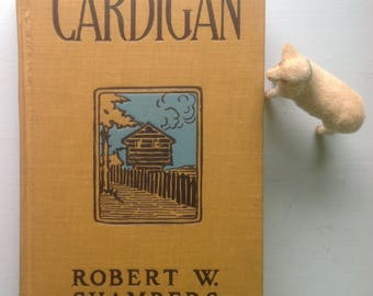 Cardigan, Great Cover, Strong Graphics, 1901 Hardcover, Illustrated, Lenni Lenape, Mohaw, Senecas, Onondagas, Fort Pitt, Pioneer Indian