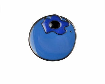 1 badges Blueberry trend metal enamel pin badge brooch