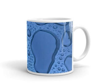 Brand new Water Drop Printed Mug