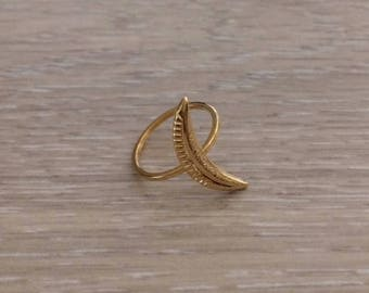 Spear Ring, Gold Ring, Stack Ring, Arrow Ring, Thin Ring, Knuckle Ring