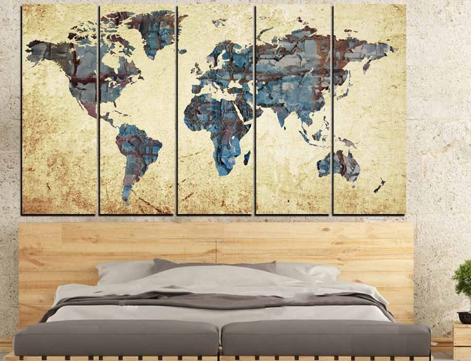 Large world mapworld map abstract map wall art world map gallery photo gallery photo gallery photo gumiabroncs Gallery