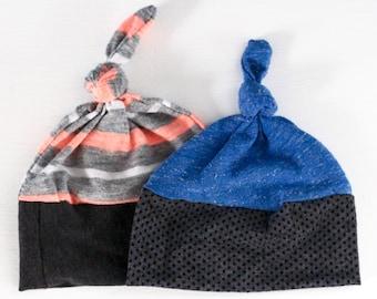 Baby Topknot Hats