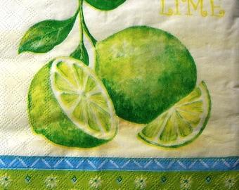 """""""Lime"""" towel"""