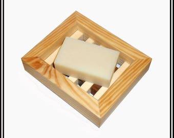 Wood Soap Dish | Walnut Aspen Spruce | Gift | Soap Holder