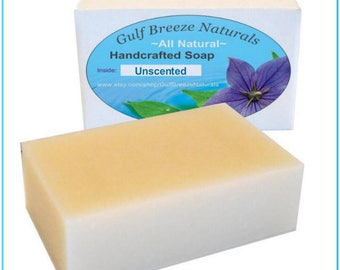 Unscented | Handcrafted Soap | Natural | Organic | Cold Processed Soap | Bath & Body
