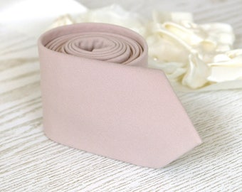Nude Tie  Men's skinny tie Lilac Ash  Wedding Ties Pink Blush   Necktie for Men FREE GIFT