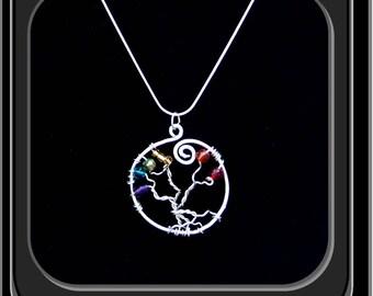 LGBT jewelry,Rainbow Earvine, Rianbow jewelry,PRIDE  jewelry,  LGBT gift ideas, Rainbow tree, Rainbow puzzle, rianbow art