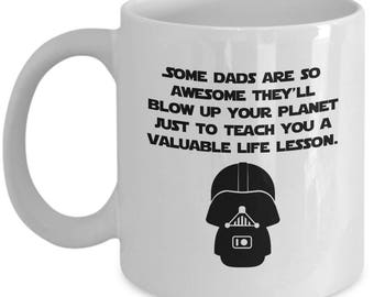 Star Wars Nerd Darth Vader Father's Day Gift Birthday Funny Dad Mug